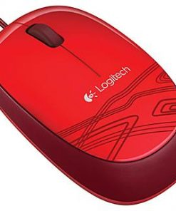 910-002920-Logitech M105 Corded Optical Mouse Black - High-definition optical tracking Full-size comfort Ambidextrous design