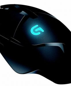 910-004070-Logitech G402 Hyperion Fury FPS USB Gaming Mouse 8 Programmable Buttons 4000 DPI High Speed Super Fast 1ms Response Time