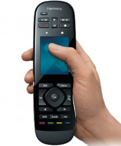 915-000249-Logitech Harmony Ultimate One Touch Screen IR Remote Gesture control Harmony compatibility Easy online setup Power at the readyOne-touch activities(LS