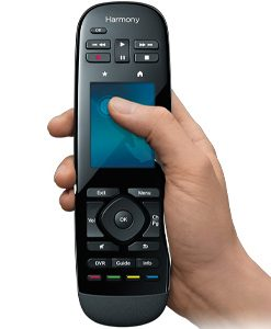 915-000249-Logitech Harmony Ultimate One Touch Screen IR Remote Gesture control Harmony compatibility Easy online setup Power at the ready One-touch activities -