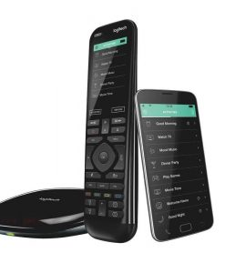 915-000258-Logitech Harmony Elite Advanced Universal Remote Control  with Hub One-touch actions Universal control Easy set-up Custom activities - 915-000258