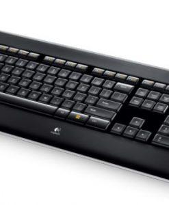 920-002361-Logitech K800 Wireless Keyboard Adjustable Backlit Illumminum Hand Proximity Detection PerfectStroke key system 3yr wty