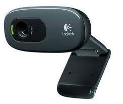 960-000584-Logitech C270 3MP HD Webcam 720p/Built in Mic/Light Correc/IM compatibility - 960-000584