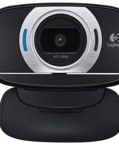 960-000738-Logitech C615 8MP Webcam Autofocus/1080p/Pan/Tilt/Zoom Fold-and-Go Design