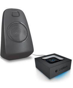 980-000914-Logitech Bluetooth Adapter Audio Streaming Via Bkuetooth - Superior acoustics Long wireless range Auto re-pairing