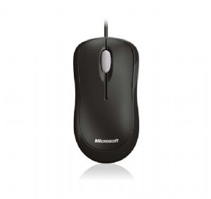 4YH-00009.-1-MS Basic Optical Mouse Black USB OEM Packaging 1PK (LS)