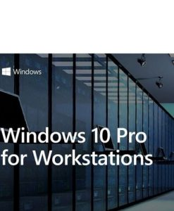 HZV-00055-Microsoft Windows 10 PRO for Workstation 64BIT only Server Grade Data Protection
