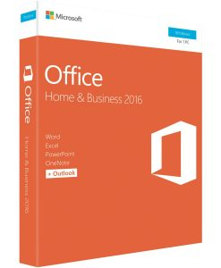 T5D-02877-Microsoft Office Home & Business 2016 (32/64-bit) - No DVD Retail Box SP2 (LS) > SMS-OFHB2019-ML