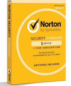 21369638-Norton Security Standard 1 Device Retail Box - Compatible with PC