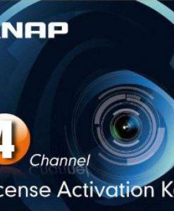 LIC-CAM-NAS-4CH-Qnap NAS Sureveillance License Activation Key 4 Pack for TS-463U-RP-4G