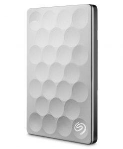 "STEH2000300-Seagate Backup Plus 2TB 2.5"" Ultra Slim 9.6mm Portable Drive. Platinum. STEH2000300"