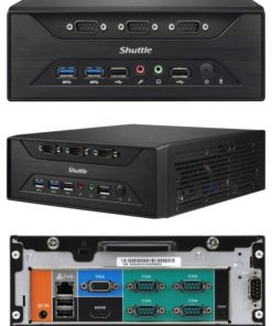 XC60J-Shuttle XC60J Fanless 3L PC - Celeron J3355