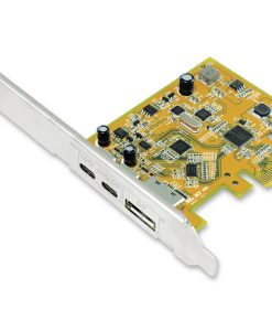 UPD2018-Sunix USB 3.1 10G & DisplayPort Alt-Mode PCI Express Host Card with Dual USB Type-C ports