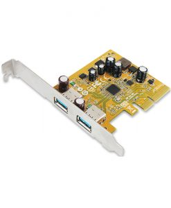 USB2312-Sunix USB2312 Sunix USB3.1 Enhanced SuperSpeed Dual ports PCI Express Host Card with USB-A