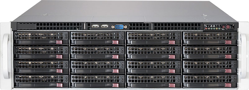 836BE1C-R1K03B-Supermicro 3U 1+1 Rackmount