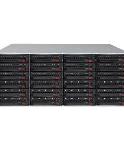 "SC846BE1C-R1K28B-Supermicro 4U 1+1 1280W Rack 24x 3.5"" SAS3 + 12GBs Expander"
