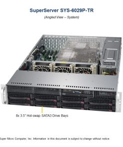 SYS-6029P-TR-Supermicro SuperServer 6029P-TR
