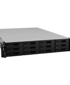 RS18017XS+-Synology RackStation RS18017xs+ 12-Bay NAS 2U Rack Intel Xeon D-1531 6-Core 2.7GHz 16GB DDR4 4x1GbE 2x10GbE 2xUSB3.0 1xExpansion Port 2xPCIe Hot Swap