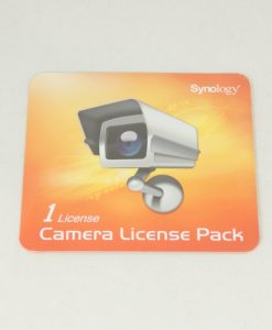 license PK (1)-Synology Surveillance Device License Pack For Synology NAS - 1 Additional Licenses