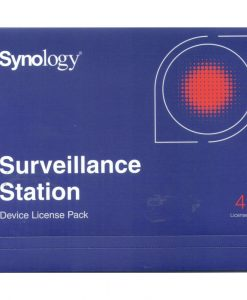 license PK (4)-Synology Surveillance Device License Pack For Synology NAS - 4 Additional Licenses