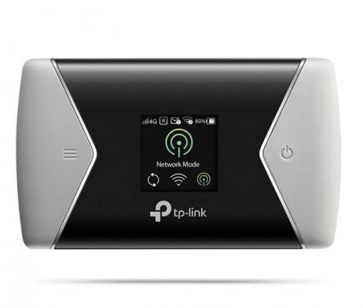 M7450-TP-Link M7450 LTE-Advanced Mobile Wi-Fi 3G/4G AC1200 1200Mbps 300Mbps DL 50Mbps UL micro USB micro SIM microSD 3000mAh 10hrs 10 devices