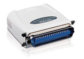 TL-PS110P-TP-Link PS110P Printer Server Single Parallel port 10/100 Mbps