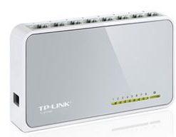TL-SF1008D-TP-Link SF1008D 8 Port Switch 10/100Mbps Desktop Plastic case