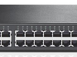 TL-SG1048-TP-Link TL-SG1048 48-Port Gigabit Rackmount Switch 19-inch rack-mountable steel case 96Gbps Switching Capacity IEEE 802.3x flow control Auto MDI/MDIX