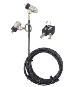 ASP57MKAUX-Targus DEFCON® Dual P2MKL Cable Lock