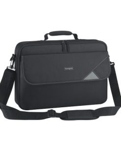"""TBC002AU-Targus 15.6"""" Intellect Bag Clamshell Laptop Case with Padded Laptop Compartment - Black"""