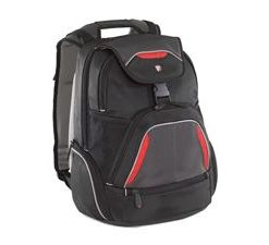 """TSB034AU-Targus 16"""" Repel SportBackpack Fits up to 16"""" NB Blk/Red/Grey (LS)"""