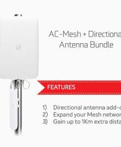 NHU-AC-M-D-BUN-Ubiquiti Unifi AC Mesh & Directional Antenna Bundle
