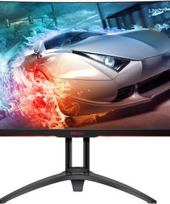 "AG322QC4/75-AOC AGON 31.5"" VA IPS-Type 4ms 144Hz 2560x1440 HDR 400 Ultra-Thin FreeSync 2 Curved Gaming Monitor"