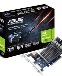 710-1-SL-BRK-Asus nVidia 710-1-SL-BRK PCIe Card DDR3  1xD-sub 1xHDMI 1xDVI