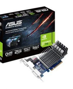 710-2-SL-BRK-Asus nVidia 710-2-SL-BRK PCIe Card DDR3  1xD-sub 1xHDMI 1xDVI
