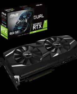 DUAL-RTX2080-8G-ASUS DUAL-RTX2080-8G GeForce RTX2080 8GB GDDR6 Graphics Card