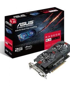 RX560-2G-Asus AMD Radeon RX560-2G DDR5 PCIe Video Card 5120x2880 1xDVI 1xHDMI 1xDP