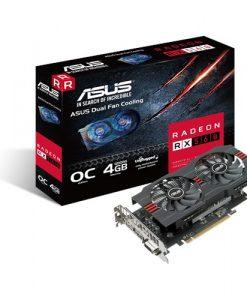 RX560-O4G-EVO-Asus AMD Radeon RX560-O4G-EVO DDR5 PCIe Video Card 5120x2880 1xDVI 1xHDMI 1xDP
