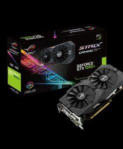 STRIX-GTX1050TI-O4G-GAMING-Asus nVidia STRIX-GTX1050TI-O4G-GAMING PCIe Card GDDR5 8K 7680x4320 1xDP 1xHDMI 2xDVI 1493/1379 MHz