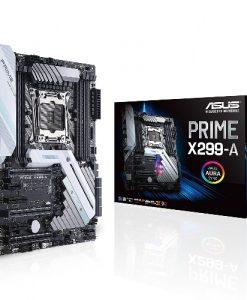 PRIME X299-A-ASUS PRIME X299-A ATX MB S2066 8xDDR4 6xPCIe 2xM.2 RAID Intel GbE LAN 8xSATA 4xUSB3.1 2 xUSB 3.1 Gen 2 Type-A + USB Type-C