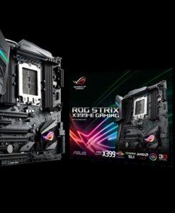 ROG STRIX X399-E GAMING-Asus ROG STRIX X399-E GAMING TR4 EATX MB 8xDDR4 6xPCe 2xM.2 6xSATA 9xUSB3.1 1xUSB3.1 Type-C