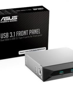 USB 3.1 FRONT PANEL-ASUS USB 3.1 FRONT PANEL Dual 10Gbit/s Backward-Compatible USB 3.1 Gen 2 Type-A Ports For PC's Front Panel