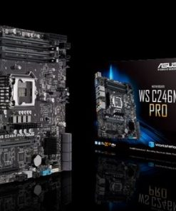 WS C246M PRO-ASUS WS C246M PRO WS MB LGA1151 micro-ATX motherboard with M.2