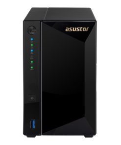 AS4002T-Asustor AS4002T 2 Bay NAS Marcell ARMADA A7020 Dual Core 1.6GHz 2GB DDR4 Hot Swap 2xGbE 1x10GbE 2xUSB3.1 WoL Hot Swap AES-NI hardware encryption