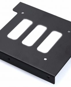 "ACCSSDBRACKET25-Aywun 2.5"" to 3.5"" Bracket Metal. Supports SSD.  Bulk Pack no screw.  *Some cases may not be compatible as screw holes may required to be drilled."