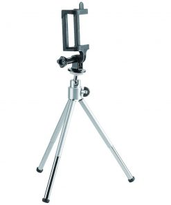 BT-WT0252-G-Brateck Mini Tripod for Digital Camera and Phones with GoPro Adapter and Smartphone Holder(LS)