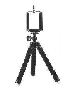 R103-BK-Brateck Universal Flexible Mini Tripod Stand Mount Holder For GoPro Hero Phone Camera