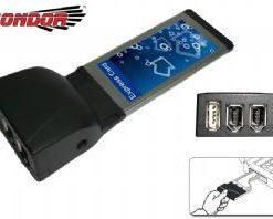 CO-EXP0090-Condor USB  IEEE1394 Exp Card 1 x USB