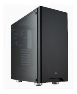 CC-9011130-WW-Corsair Carbide 275R Black ATX Mid-Tower Case. Side Window. No Top magnetic mesh filter. Two Years Warranty