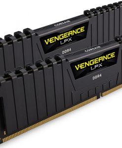 CMK16GX4M2A2400C16-Corsair Vengeance LPX 16GB (2x8GB) DDR4 2400MHz C16 Desktop Gaming Memory Black